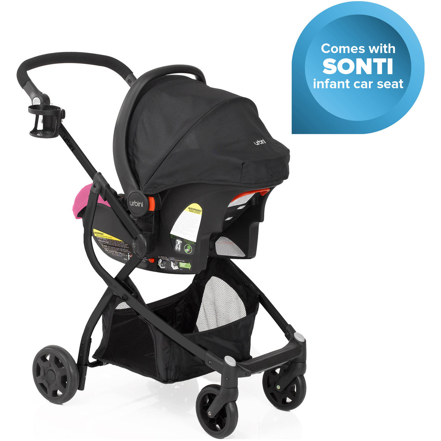 When To Switch From Car Seat To Stroller Urbini Omni Plus 3 In 1 Travel System Viola