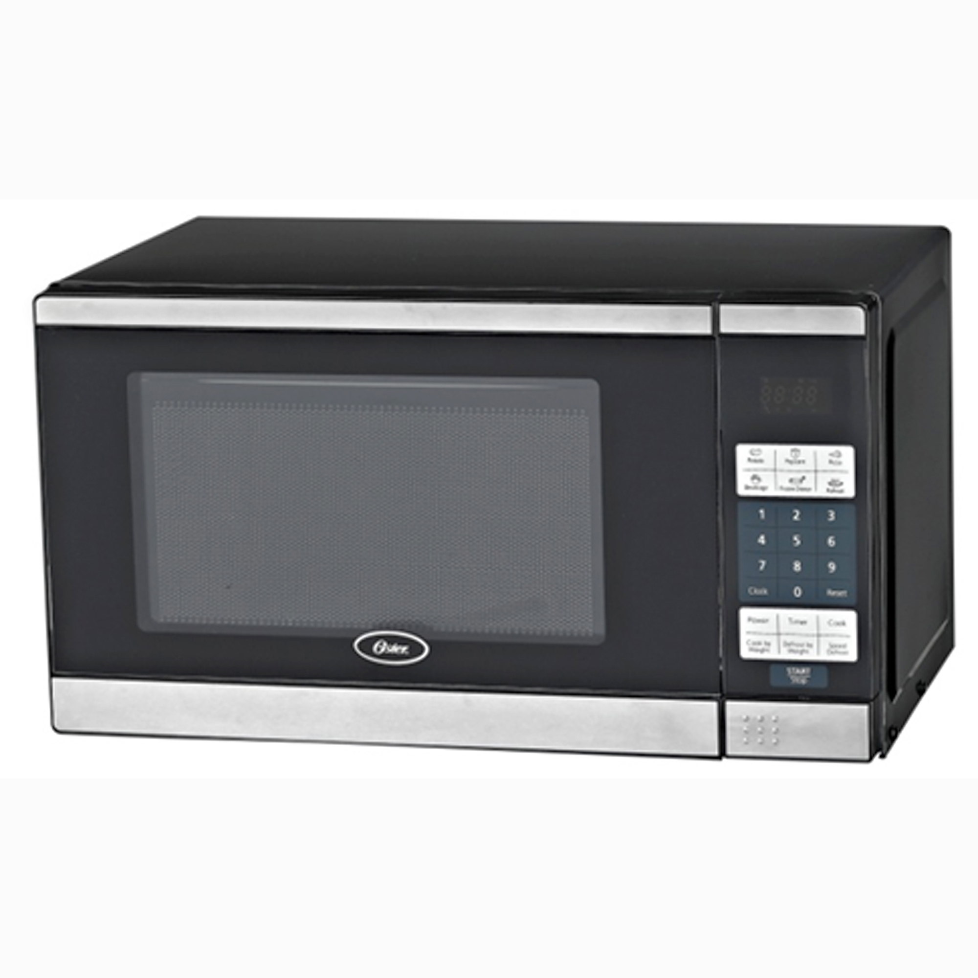 Oster 0.7 Cu Ft Countertop Microwave Battery Operated Microwave Turntable Bestmicrowave