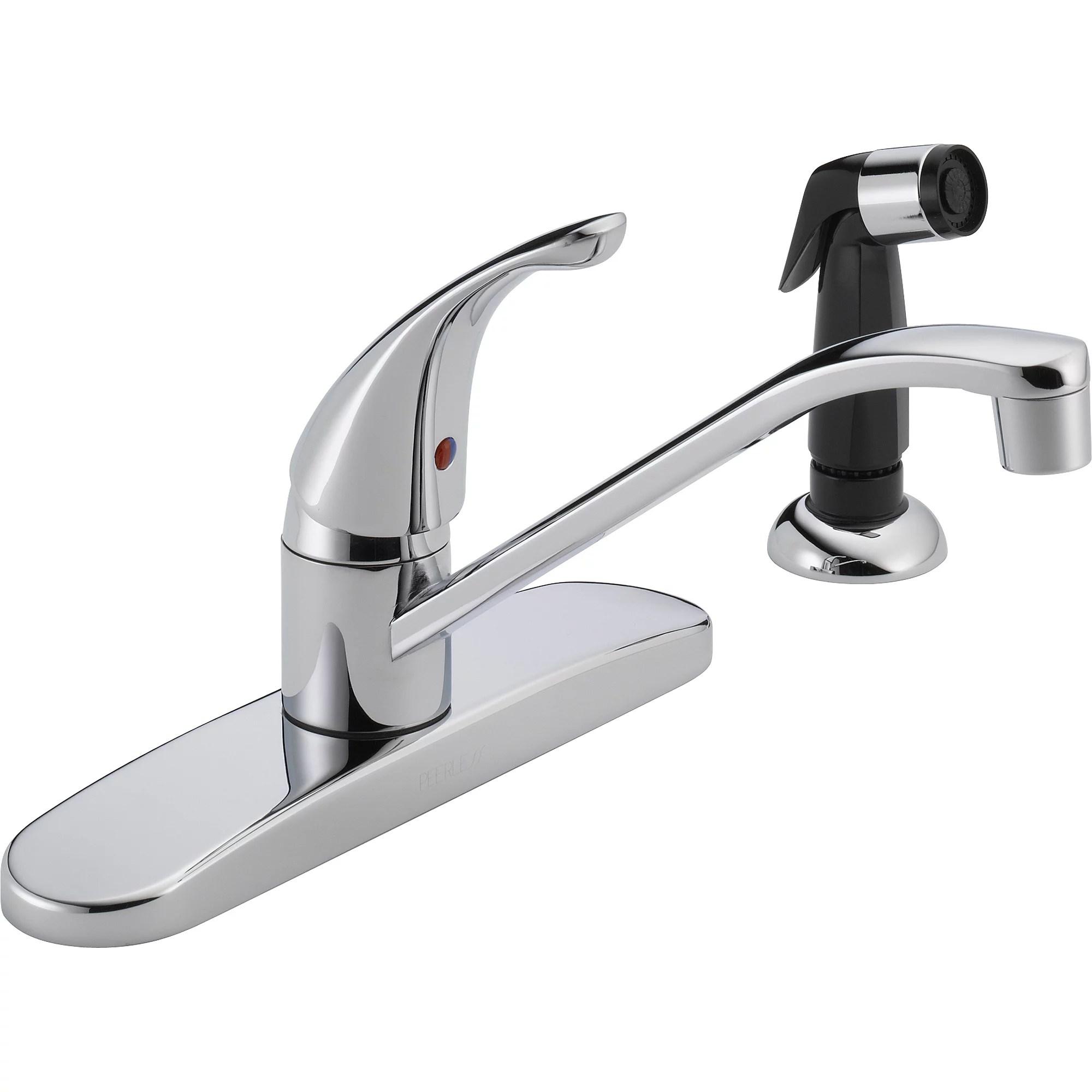 Tremendous Kitchen Faucets With Side Sprayer Download Free Architecture Designs Momecebritishbridgeorg