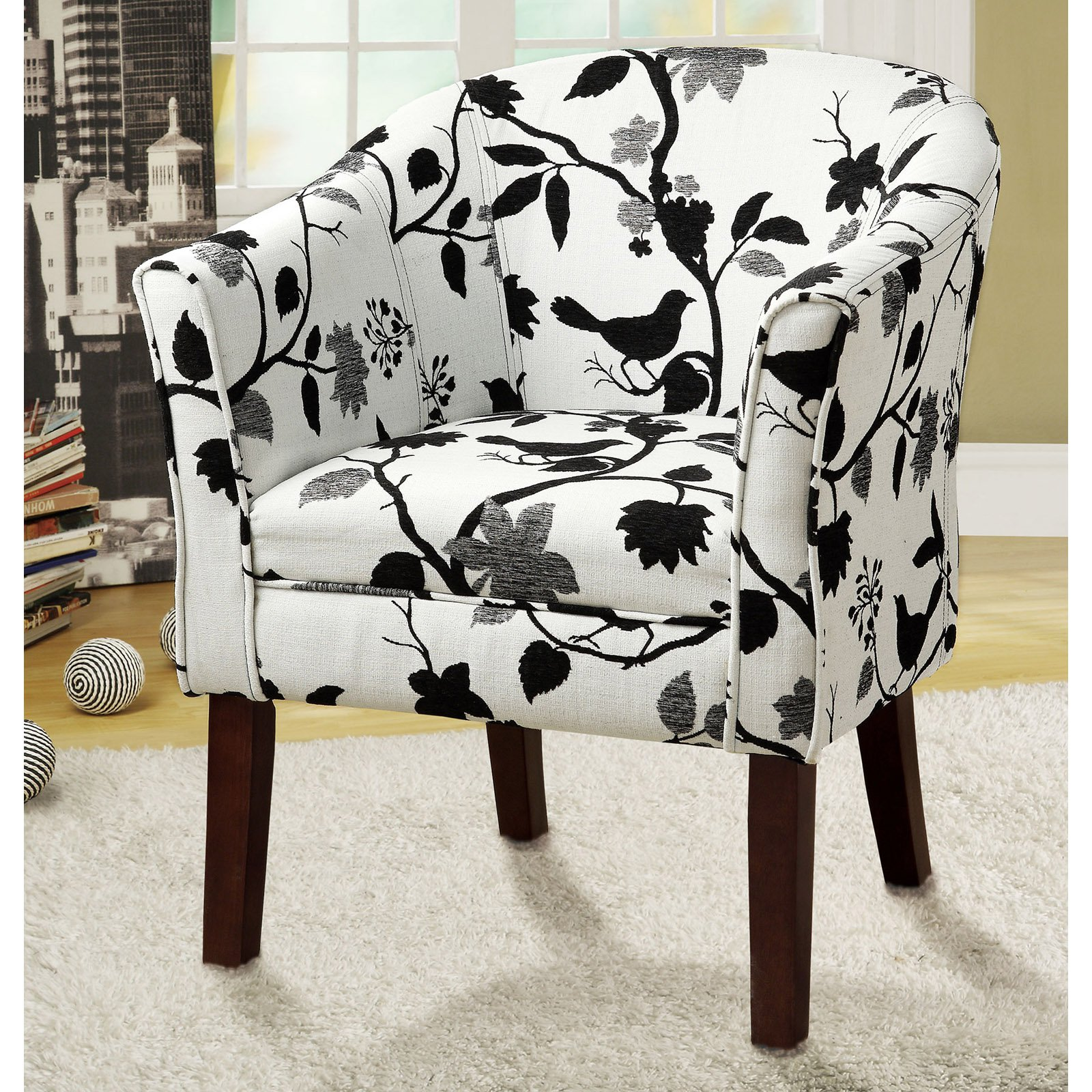 Black And White Accent Chair Coaster Company Accent Chair Black And White