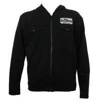 Gas Monkey Garage Mens Back Patch Fleece Zipup Hoodie ...
