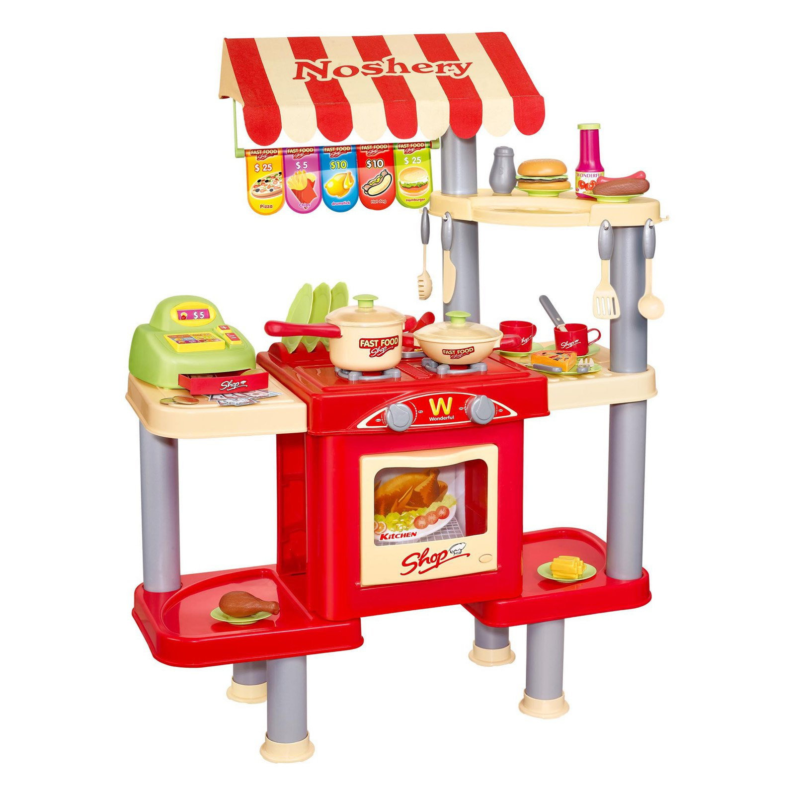 Berry Toys My Restaurant Shop Play Set Walmart