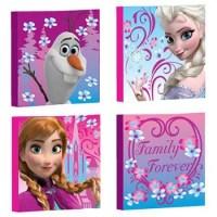Disney Frozen Canvas Wall Art, 4-Pack - Walmart.com