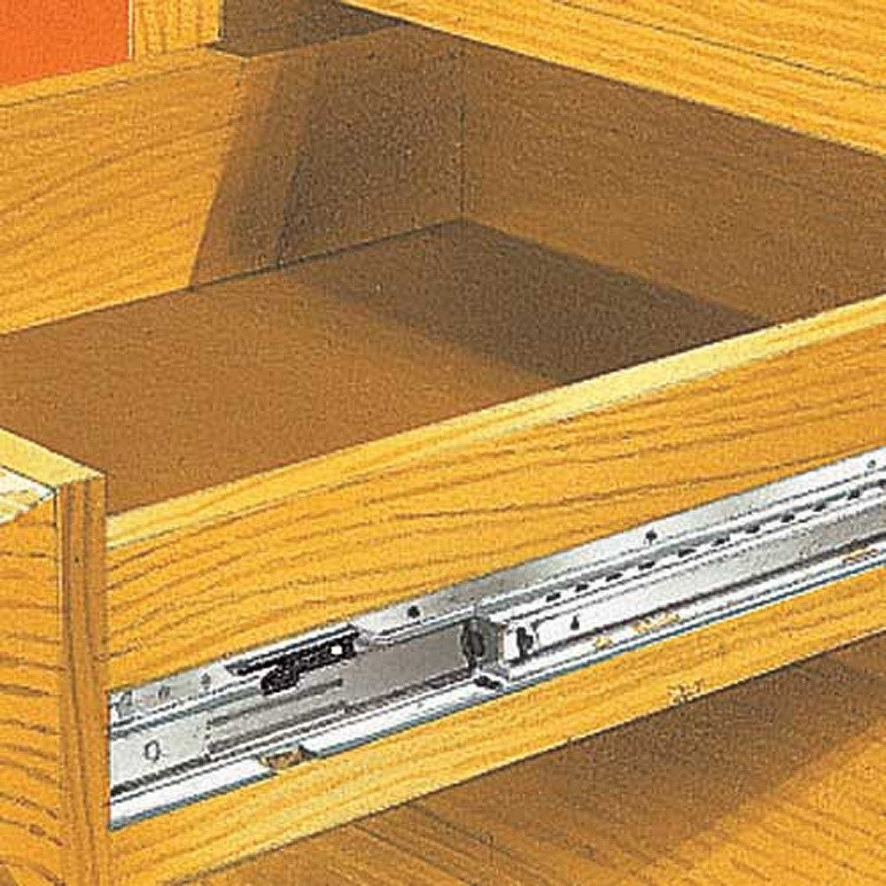 Accuride Drawer Slides 75 Lb Mini Full Extension Drawer Slide 2632 8