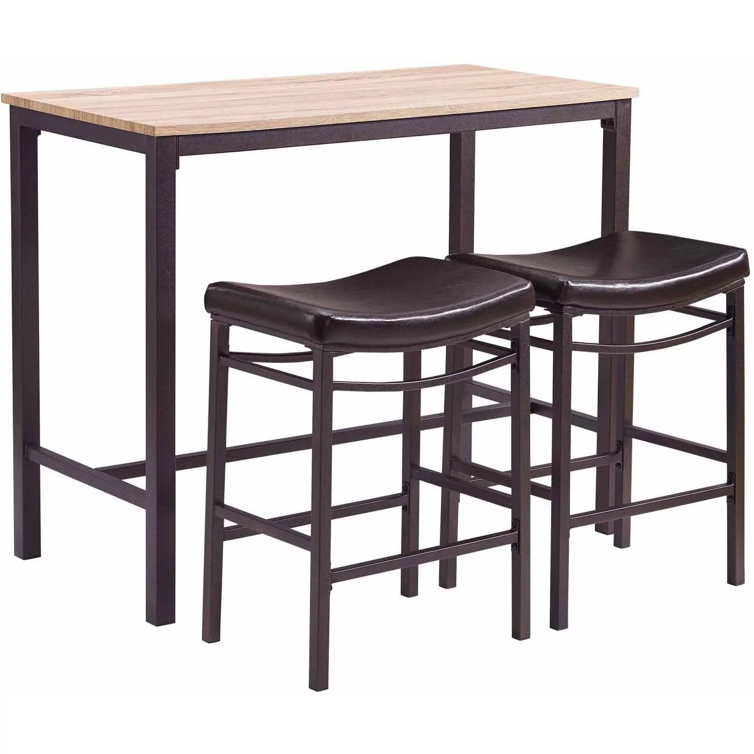 Linon Betty 3 Piece Casual Dining Tavern Set 25 59