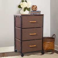 Lifewit Modern Nightstands Rolling Accent Table With ...