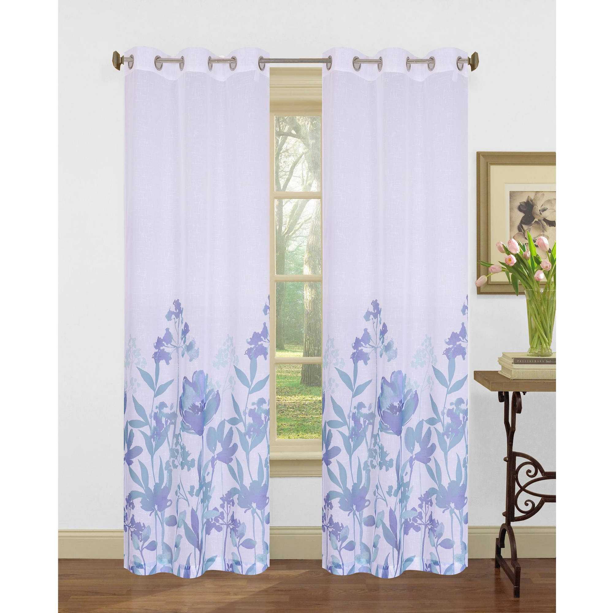 Curtains For Sale At Walmart Bella Flora 84