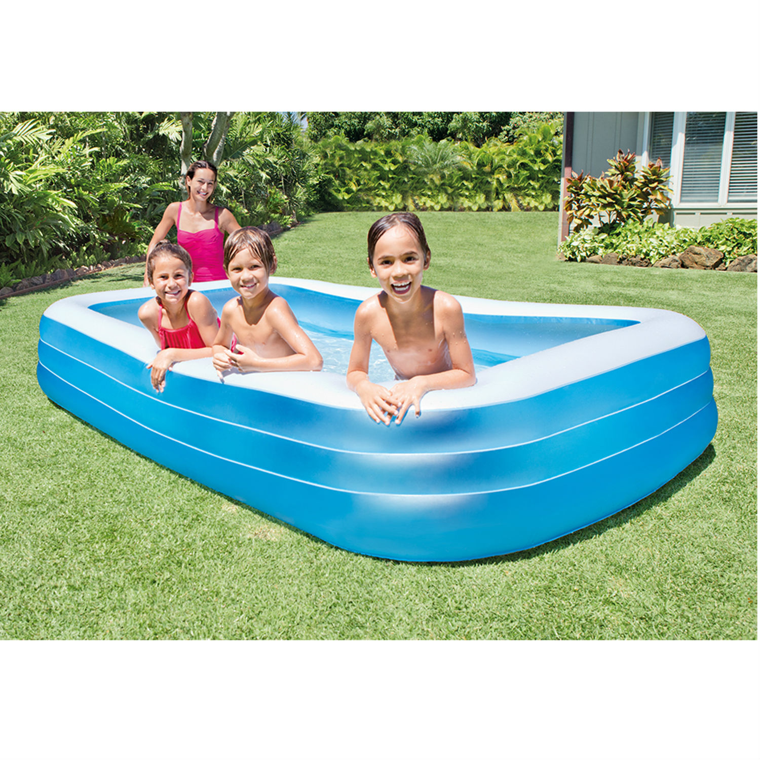 Aldi Intex Pool Intex Inflatable Swim Center Family Lounge Pool 120