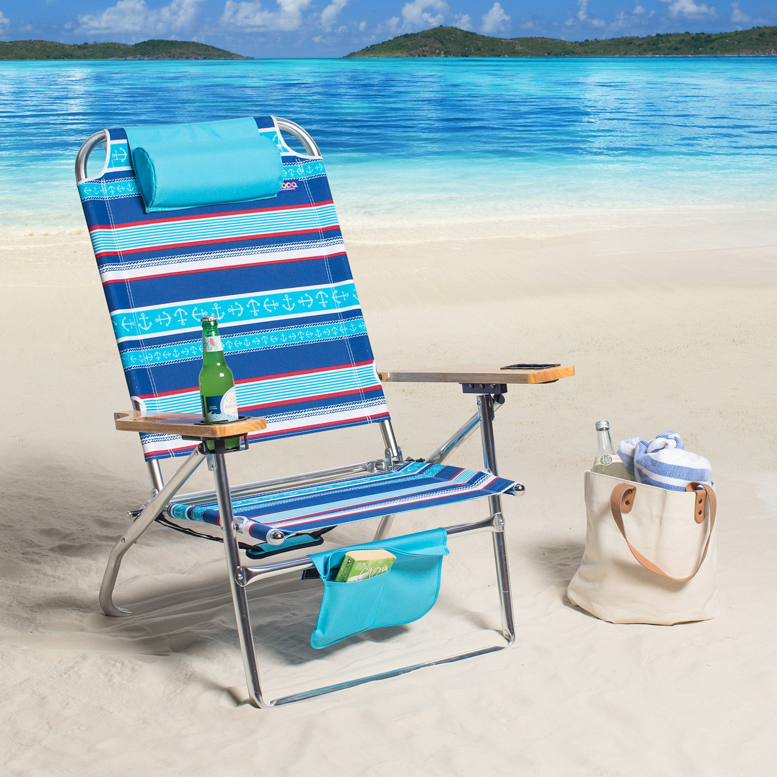 Copa 3 Position Deluxe Big Fish Hi Boy Beach Chair