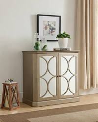 Kings Brand Gold Finish Buffet Server Cabinet/Console ...
