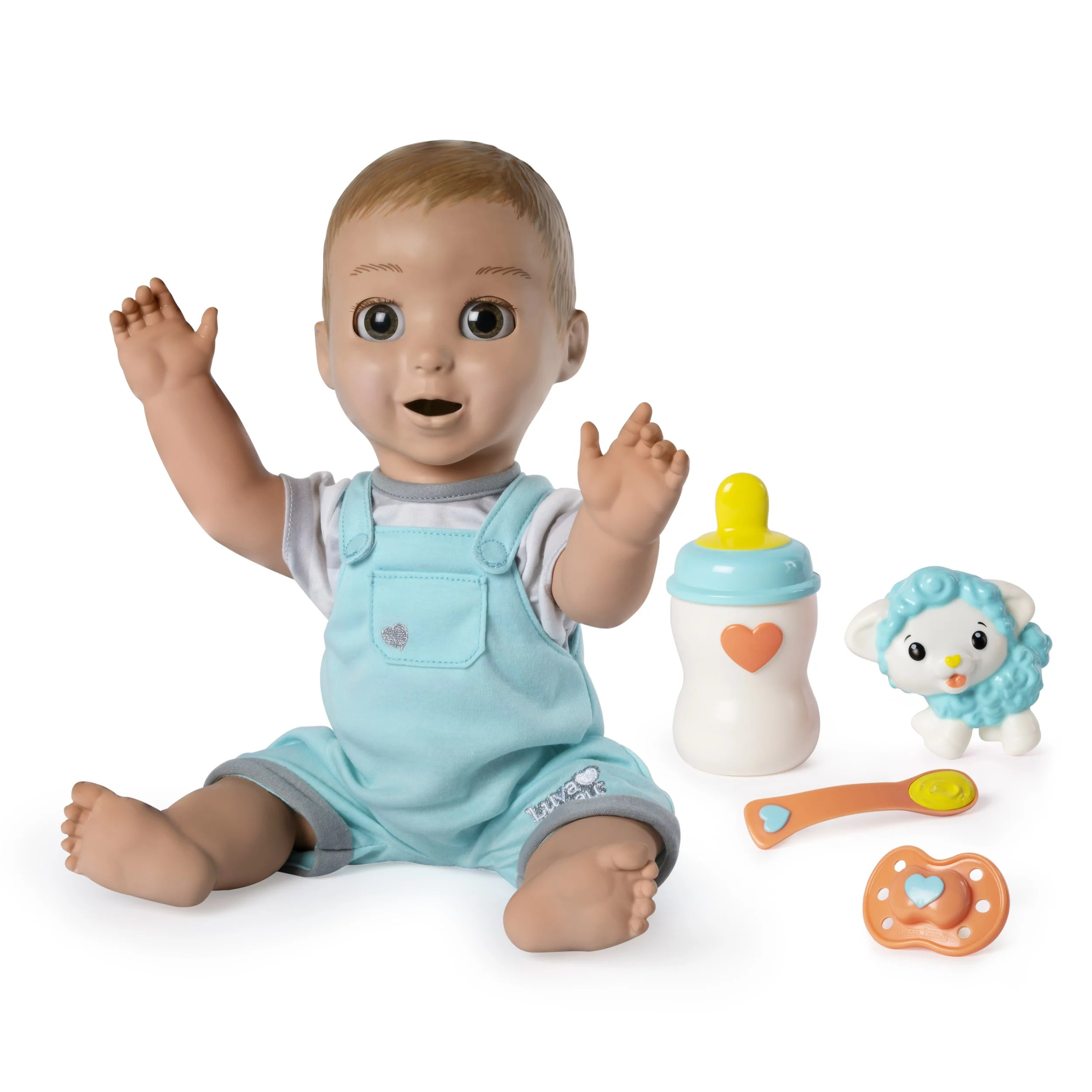 Babies Interactive Toys Luvabeau Responsive Baby Doll With Real Expressions And Movement For Ages 4 And Up