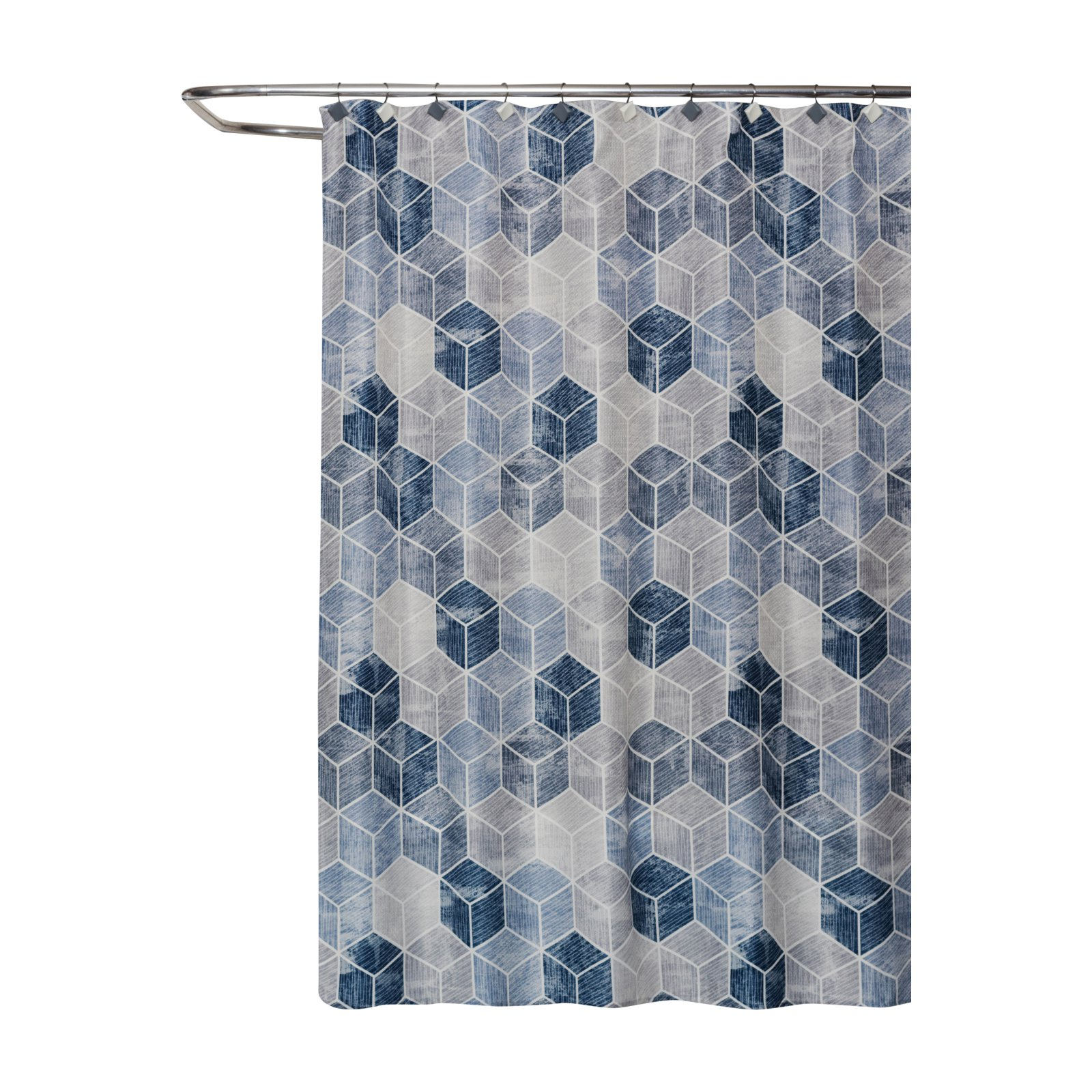 82 Shower Curtain Skl Home Cubes Shower Curtain