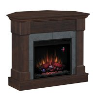 Chimney Free Dual Electric Fireplace Heater - Walmart.com