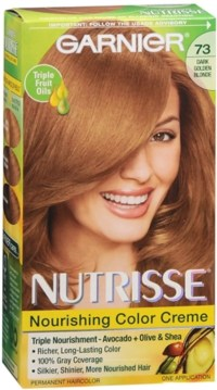 Garnier Nutrisse Haircolor - 73 Honeydip (Dark Golden ...