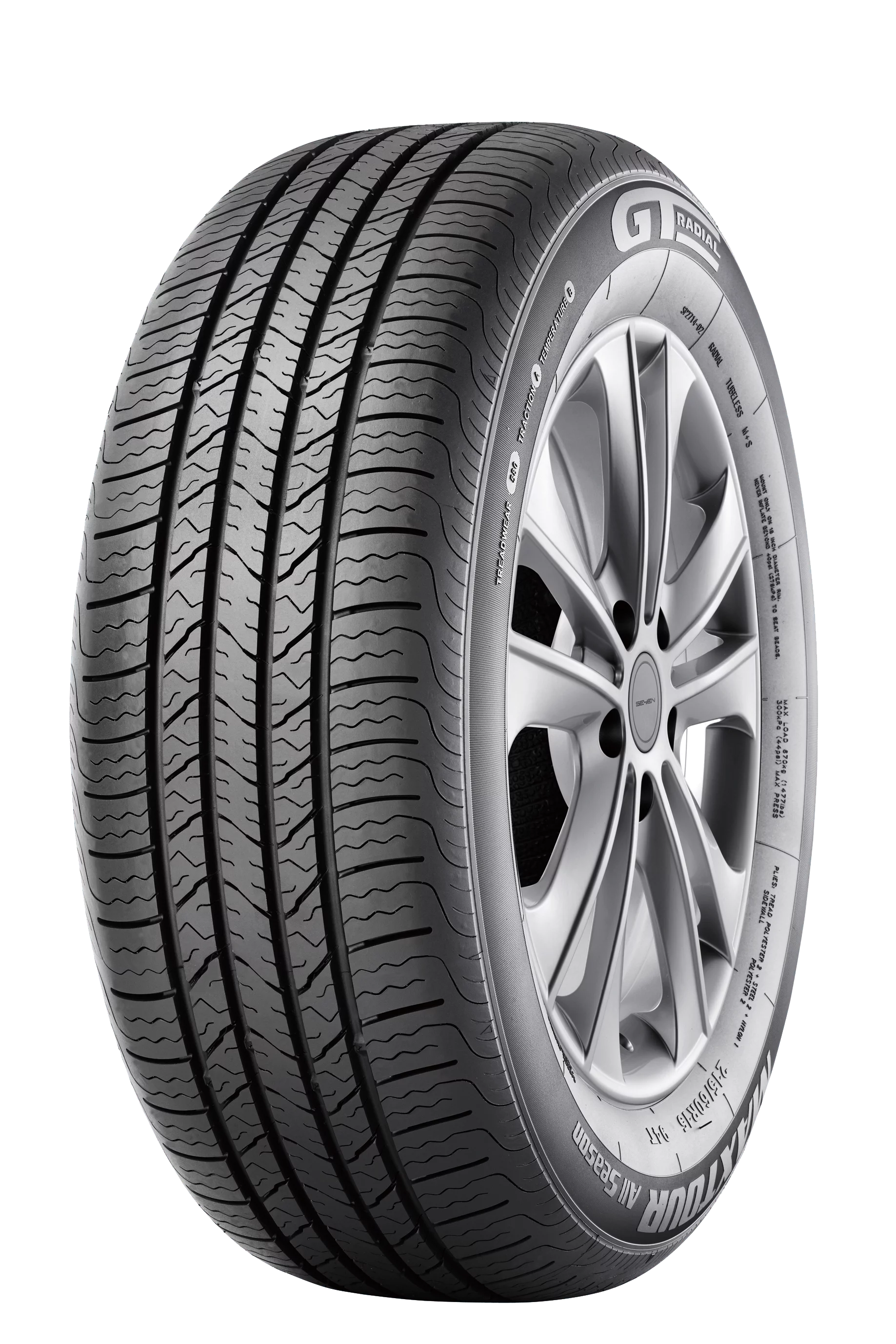 195 65 R15 Continental Gt Radial Maxtour All Season Premium Passenger All Season Radial Tire 185 65r15 88h