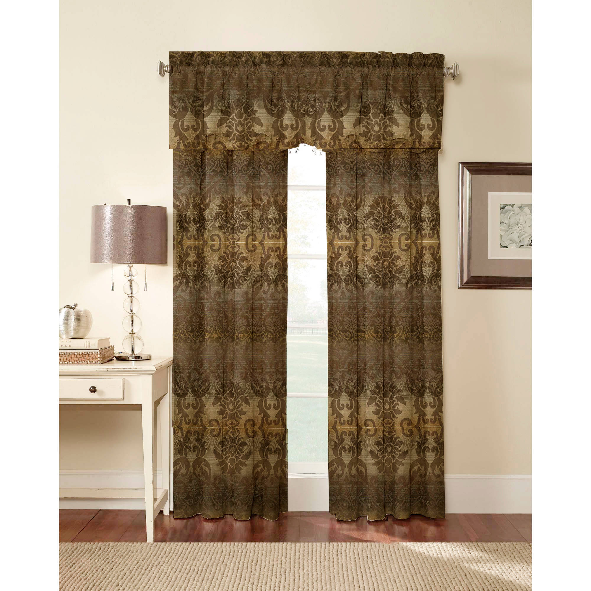Walmart Thermal Curtains Sun Zero Palermo Thermal Lined Curtain Panel Walmart