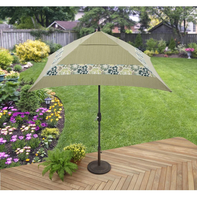 Better Homes And Gardens Jade Avenue Outdoor Umbrella