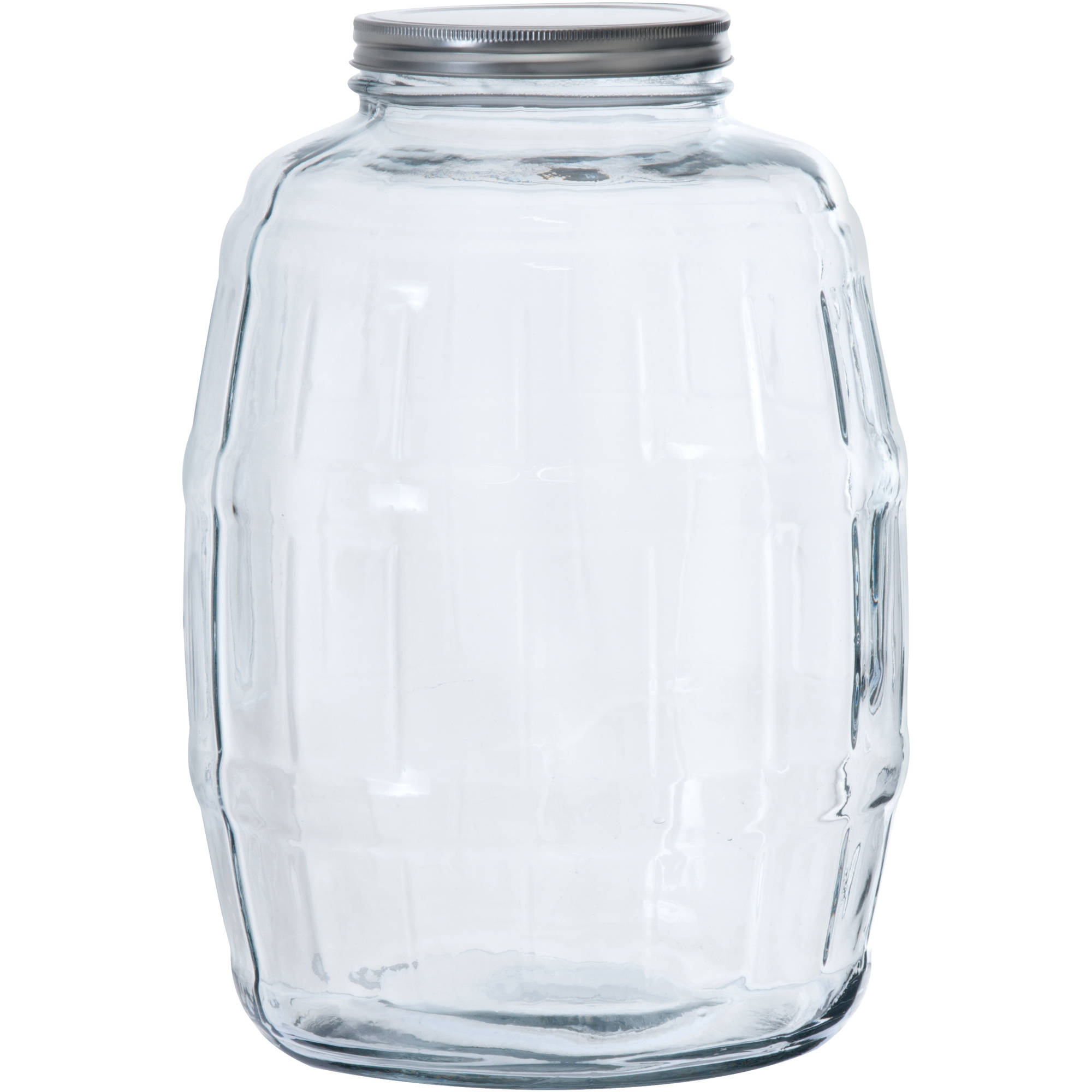Huge Glass Cookie Jar Mainstays 67 Oz Clear Glass Jar With Clamp Lid Walmart