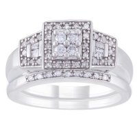 Always and Forever Platinaire 1/3 Carat T.W. Diamond ...