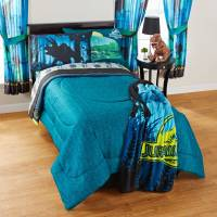 Twin/Full Comforter Jurassic World Dinosaur Kid Reversible ...
