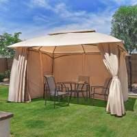 10' x 13' Outdoor Backyard Patio Gazebo Canopy Tent, with ...