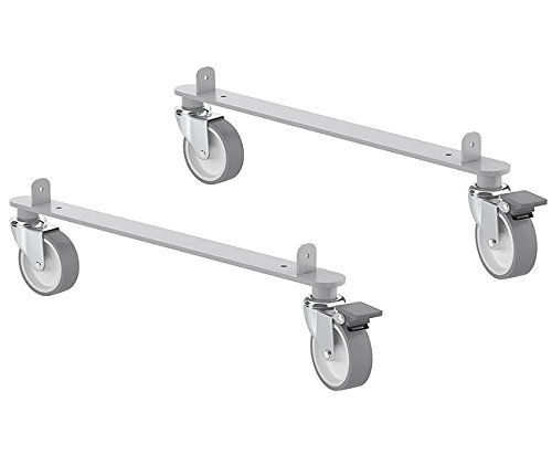 Ikea Kallax Steel Rail Hardware With Casters For Home Or Office Furniture Pieces 2 Pack Includes 2 Rails 4 Wheels Walmart Canada