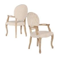 Exeter Linen Arm Chair - Walmart.com