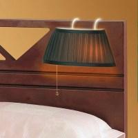 Over The Headboard Hanging Bed Lamp - Green - Walmart.com