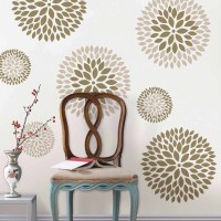 WallPops Chrysanthemum Wall Art Decals Kit - Walmart.com