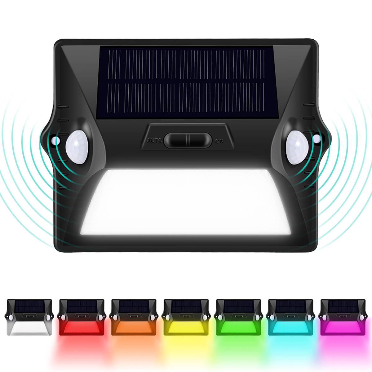 Outside Solar Lights Outdoor Solar Lights 12 Led Solar Powered Security Lights With Motion Sensor Wall Lights Outside For Garden Driveway Patio Yard Deck Pathway