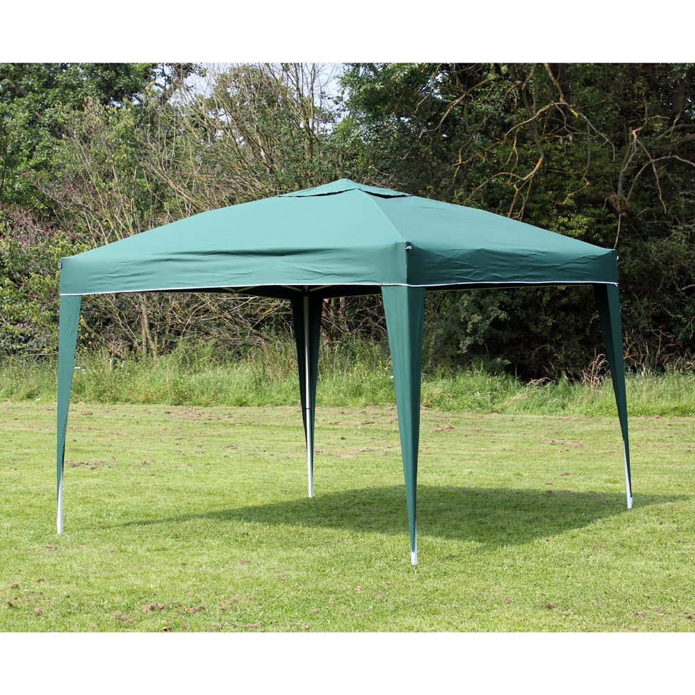 Pop Up Canopy 10 X 10 Palm Springs Green Ez Pop Up Canopy Gazebo Party Tent New
