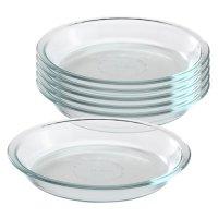 Pyrex Glass Bakeware 9-inch Pie Plate, Set of 6 - Walmart.com