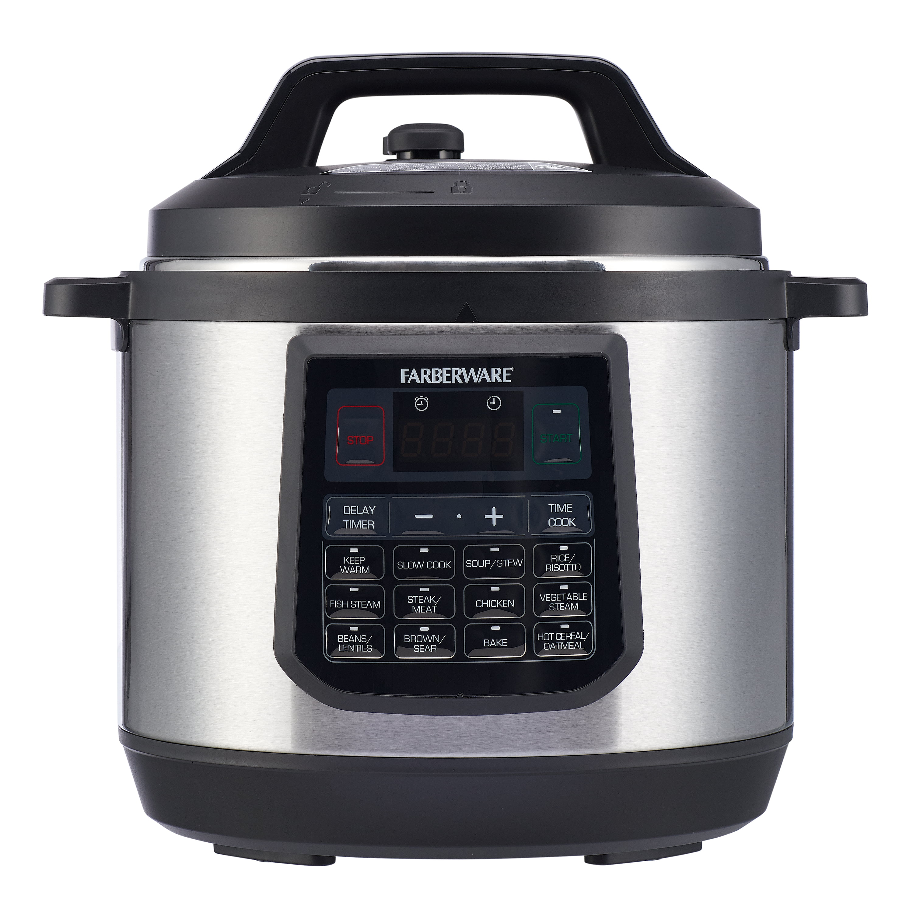 Big W Pressure Cooker Farberware 8 Quart 7 In 1 Programmable Pressure Cooker Walmart