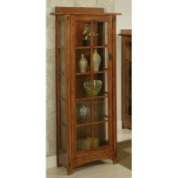AYCA Furniture Bungalow Curio Cabinet - Walmart.com