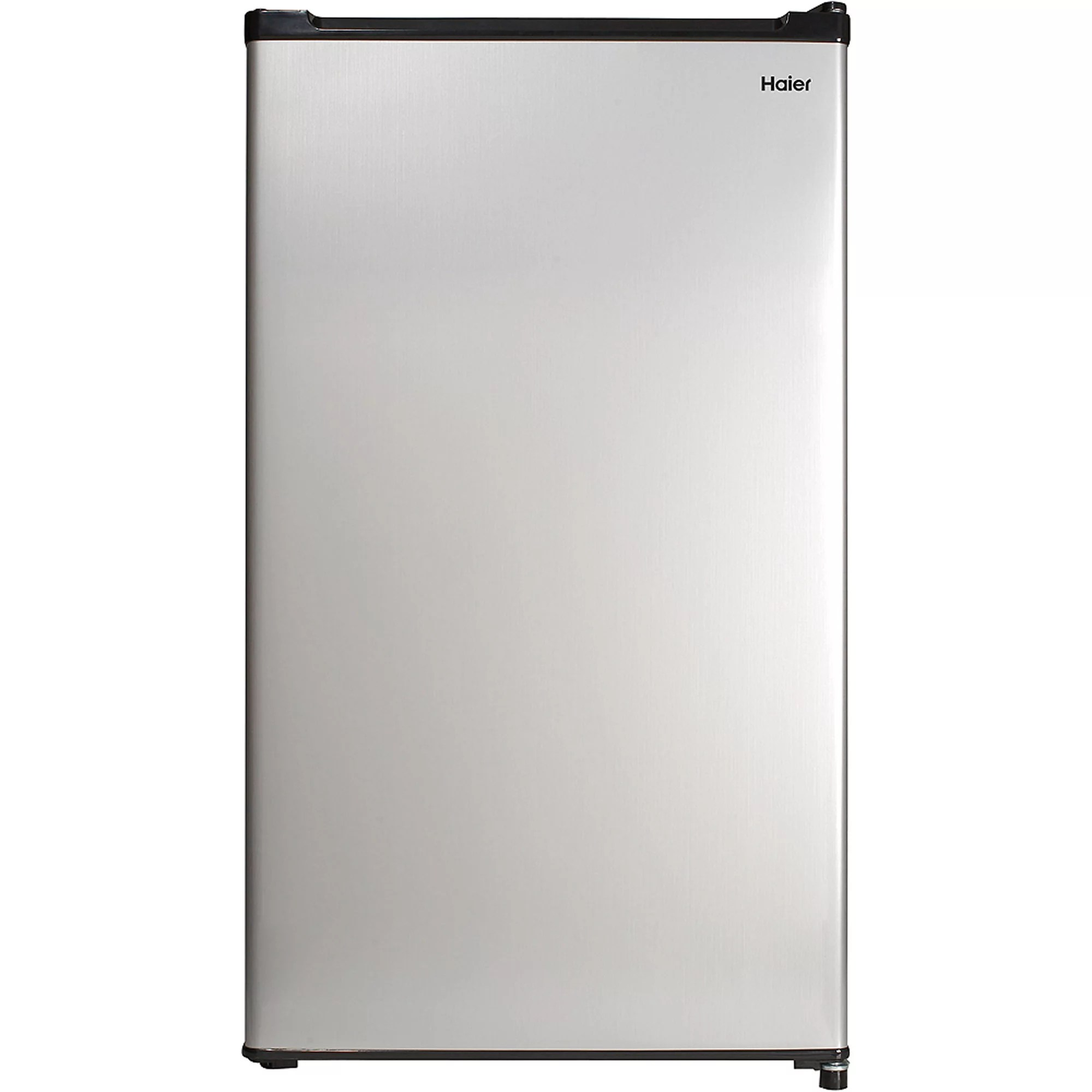 New Refrigerator Price Haier 3 2 Cu Ft Two Door Refrigerator With Freezer Hc32tw10sv Black