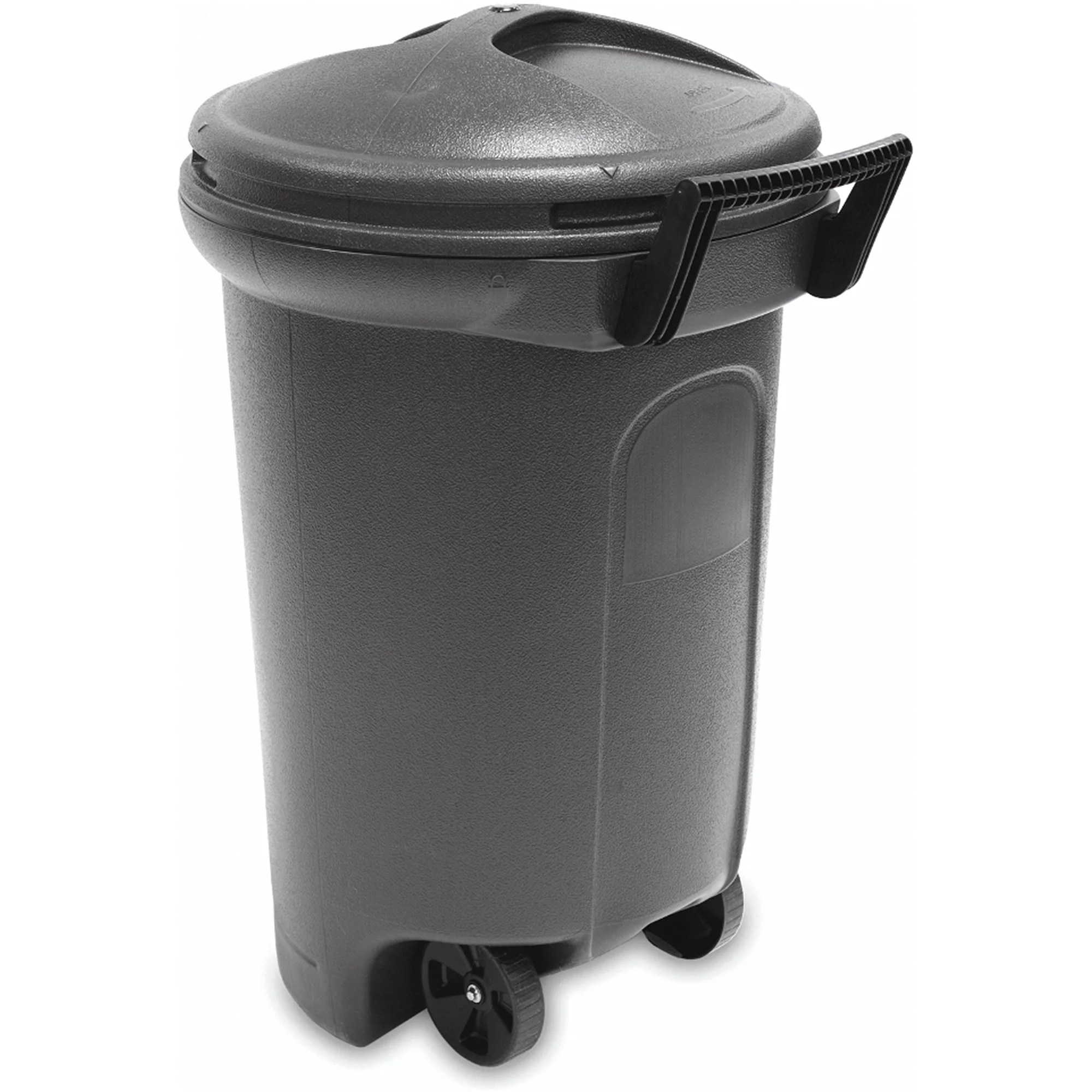 Trash Can With Lid Kitchen New Plastic Trash Can With Wheels Garbage Waste Bin