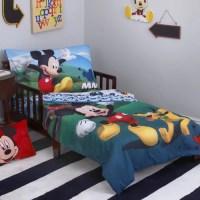 Disney Mickey Mouse Playhouse 4 Piece Toddler Bedding Set ...