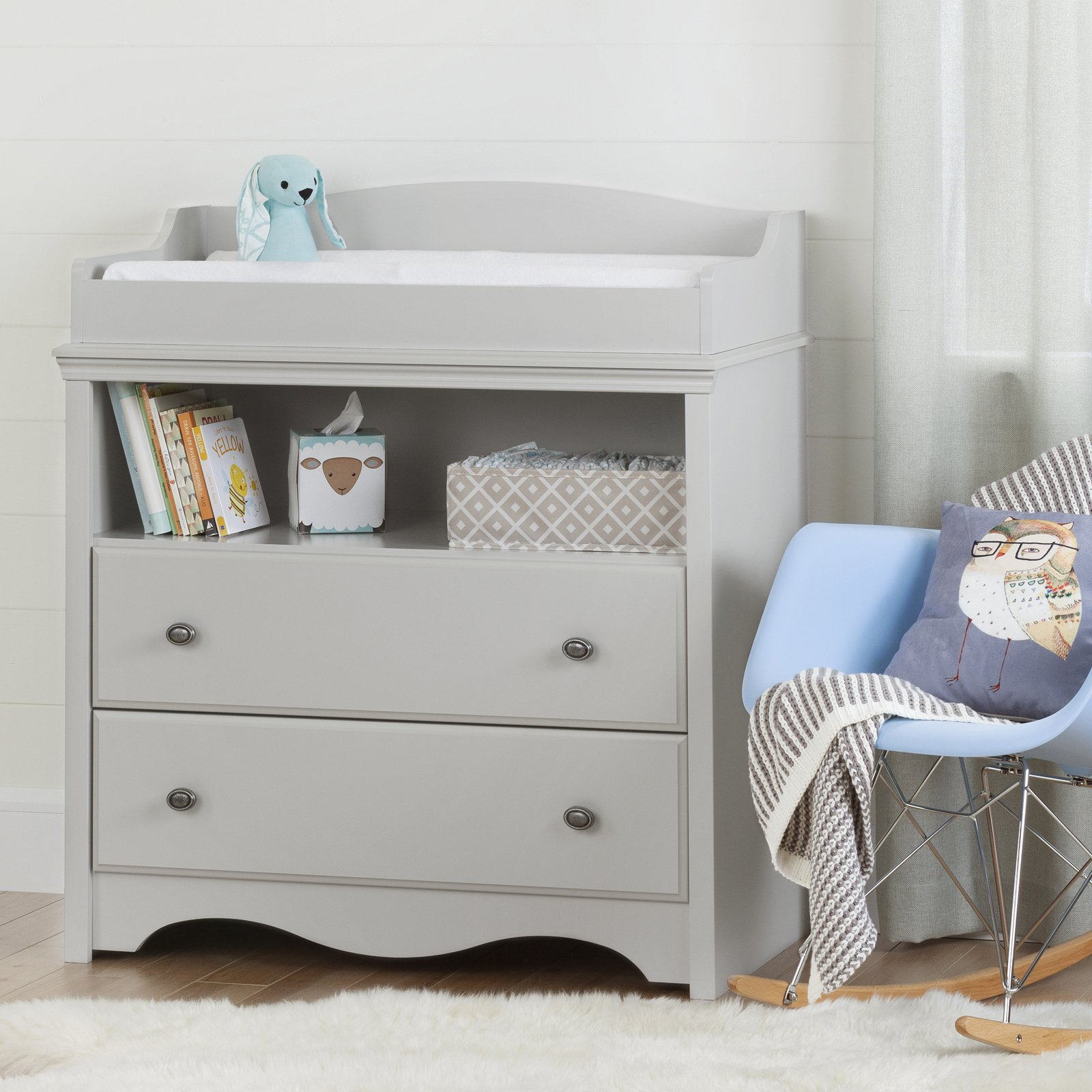 Changing Table Chest Of Drawers South Shore Angel Changing Table With Drawers Multiple Finishes