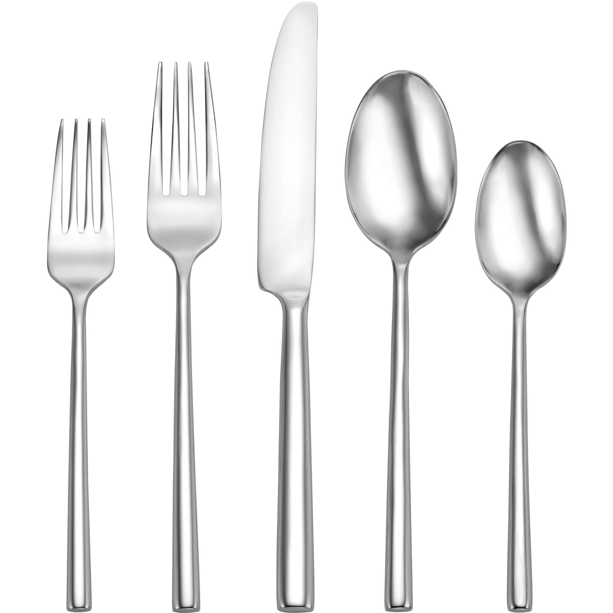 Discount Stainless Flatware Oneida Porter Stainless Steel Flatware Set 20 Piece