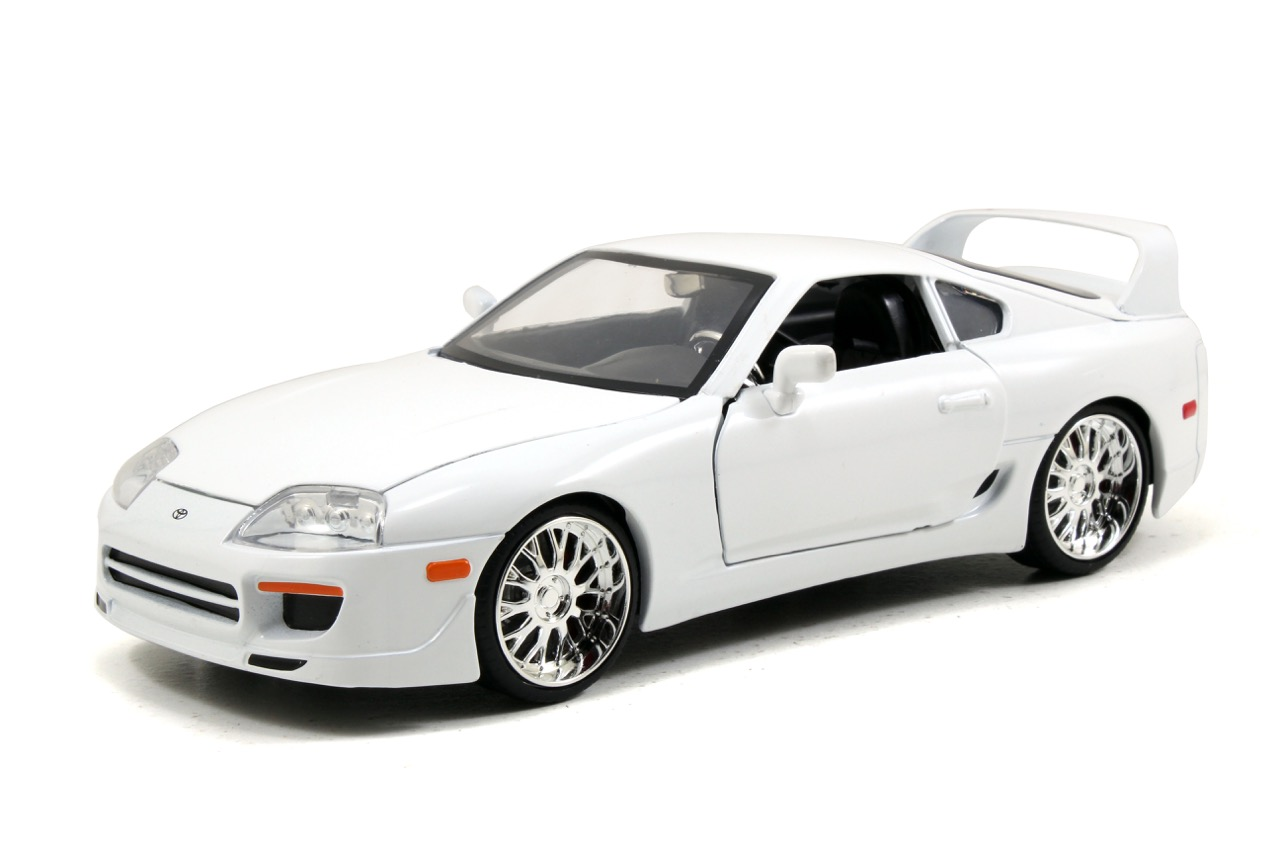 Toyota Supra From The Fast And The Furious Brian S Toyota Supra White Fast Furious