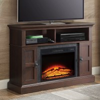 """TV Stand Media Entertainment Wood Console 55"""" Electric ..."""
