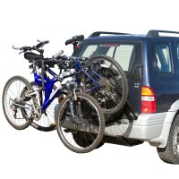 2-Bike Spare Tire Bicycle Carrier Rack for SUV and RV ...