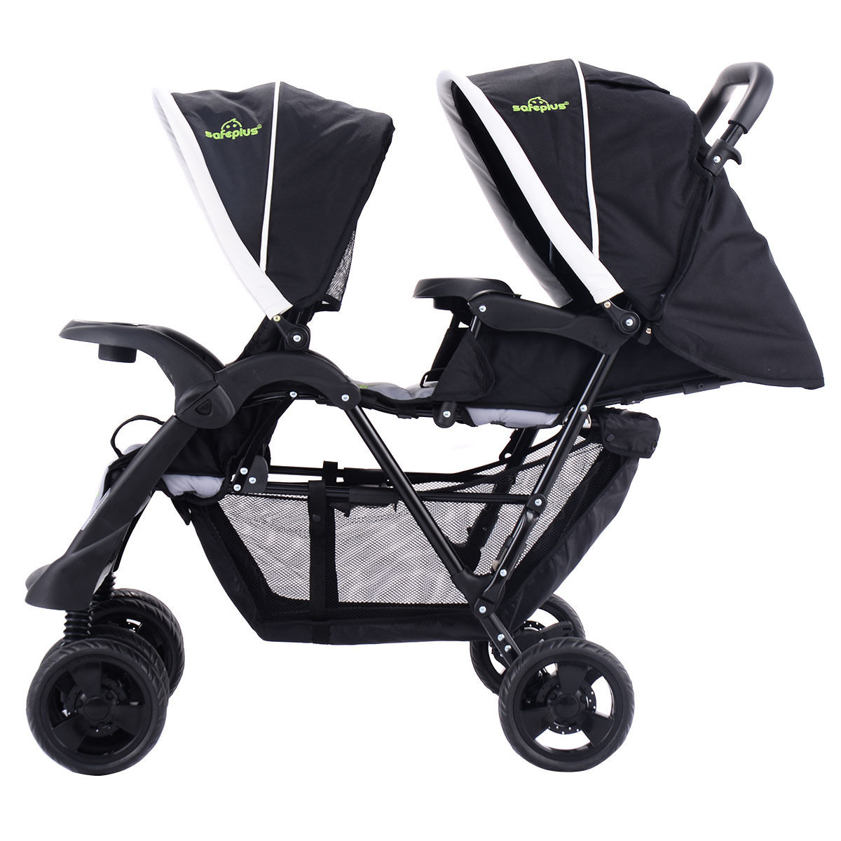 Travel System Tandem Stroller Details About Baby Double Stroller Twin Umbrella Kids Tandem Pushchair Foldable Travel System