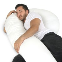 Full Body Pillow - C Shaped Body Pillow for Men and Women ...