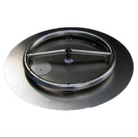 Fire Pit Ring Burner with Pan Natural Gas Connection Kit ...