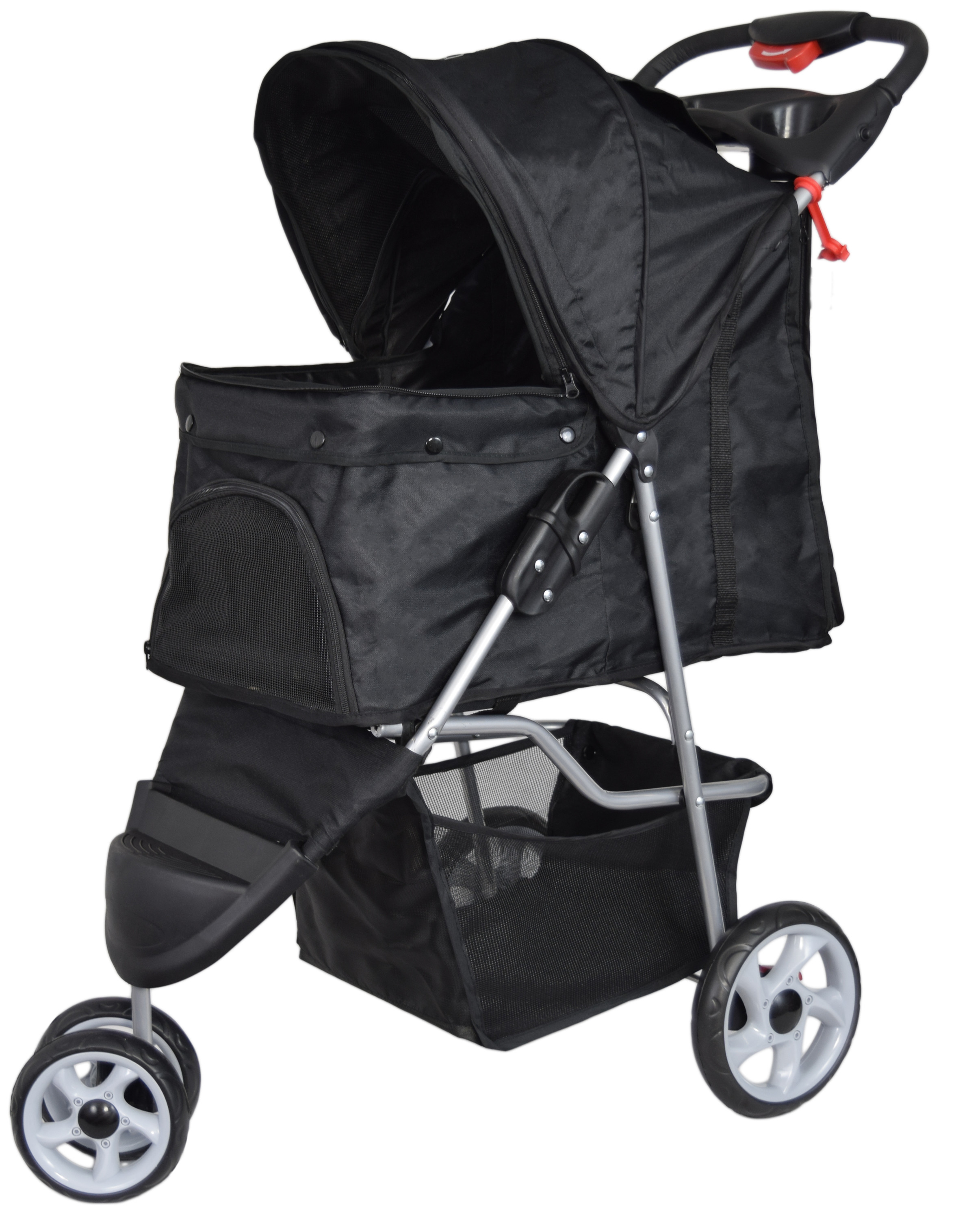 Komfort Buggy Book Von Peg Perego Vivo Three Wheel Pet Stroller Cat Dog Foldable Carrier Strolling Cart Black