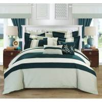 Lorena 24-Piece Complete Bed in a Bag Bedding Comforter ...