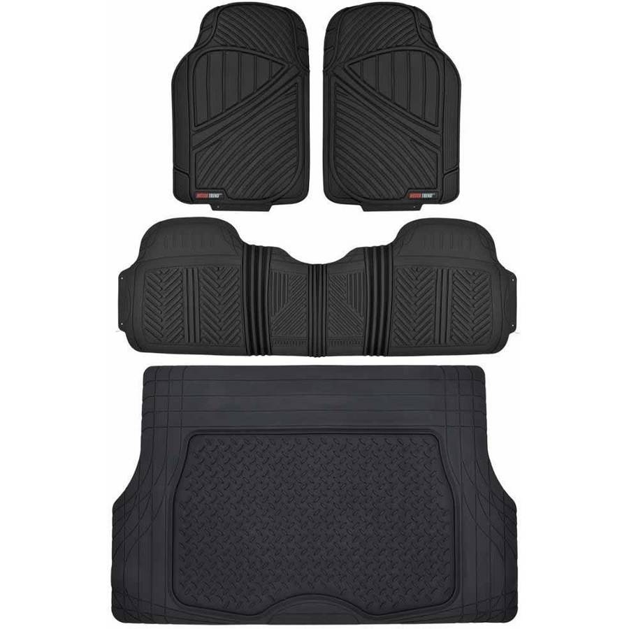 Motor Trend Flextough Floor Mats For Car Suv And Van With