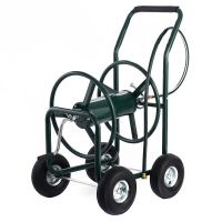 Garden Water Hose Reel Cart 300FT Outdoor Heavy Duty Yard ...