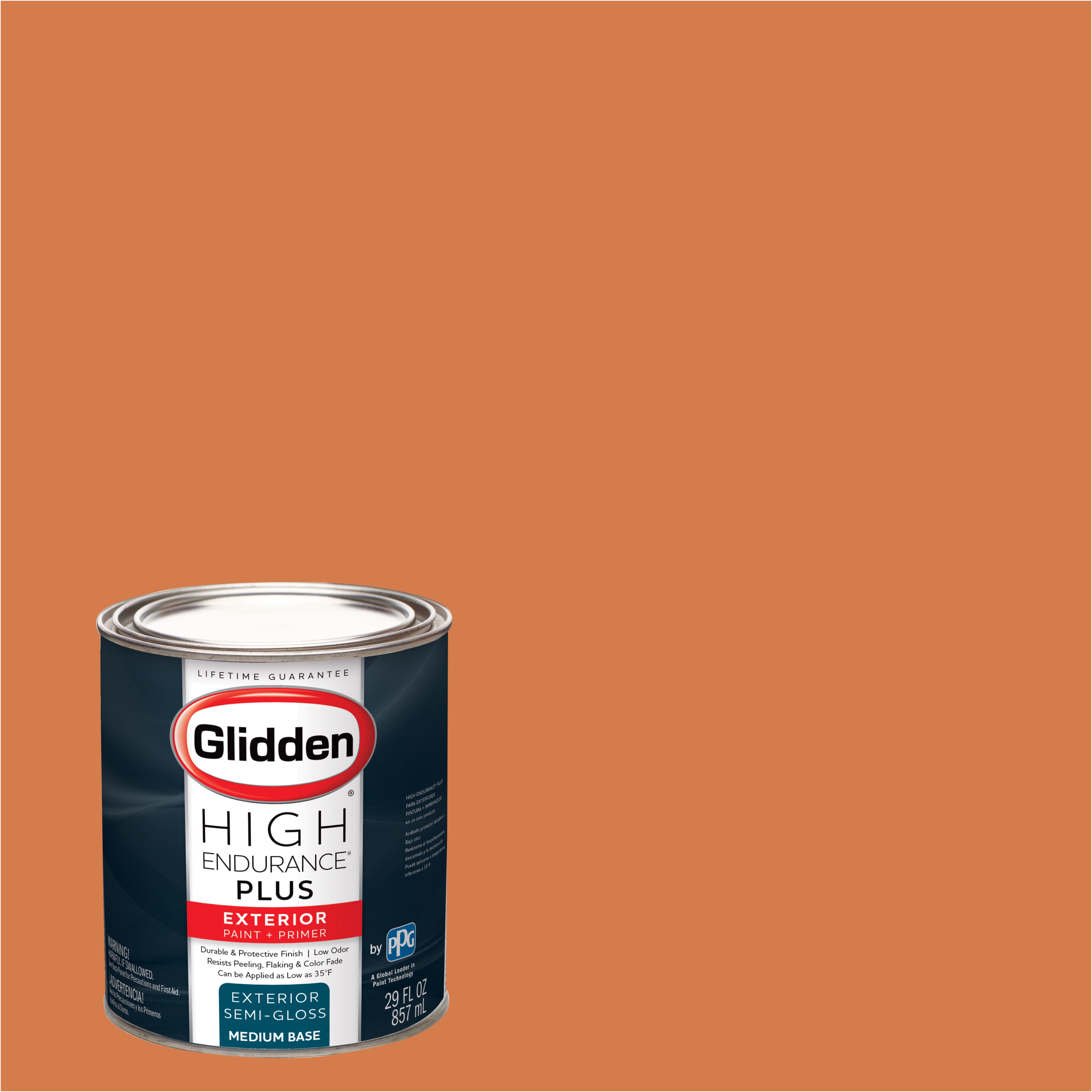 Orange Exterior Paint Glidden High Endurance Plus Exterior Paint And Primer Orange Range Chinese Lantern 60yr 33 514